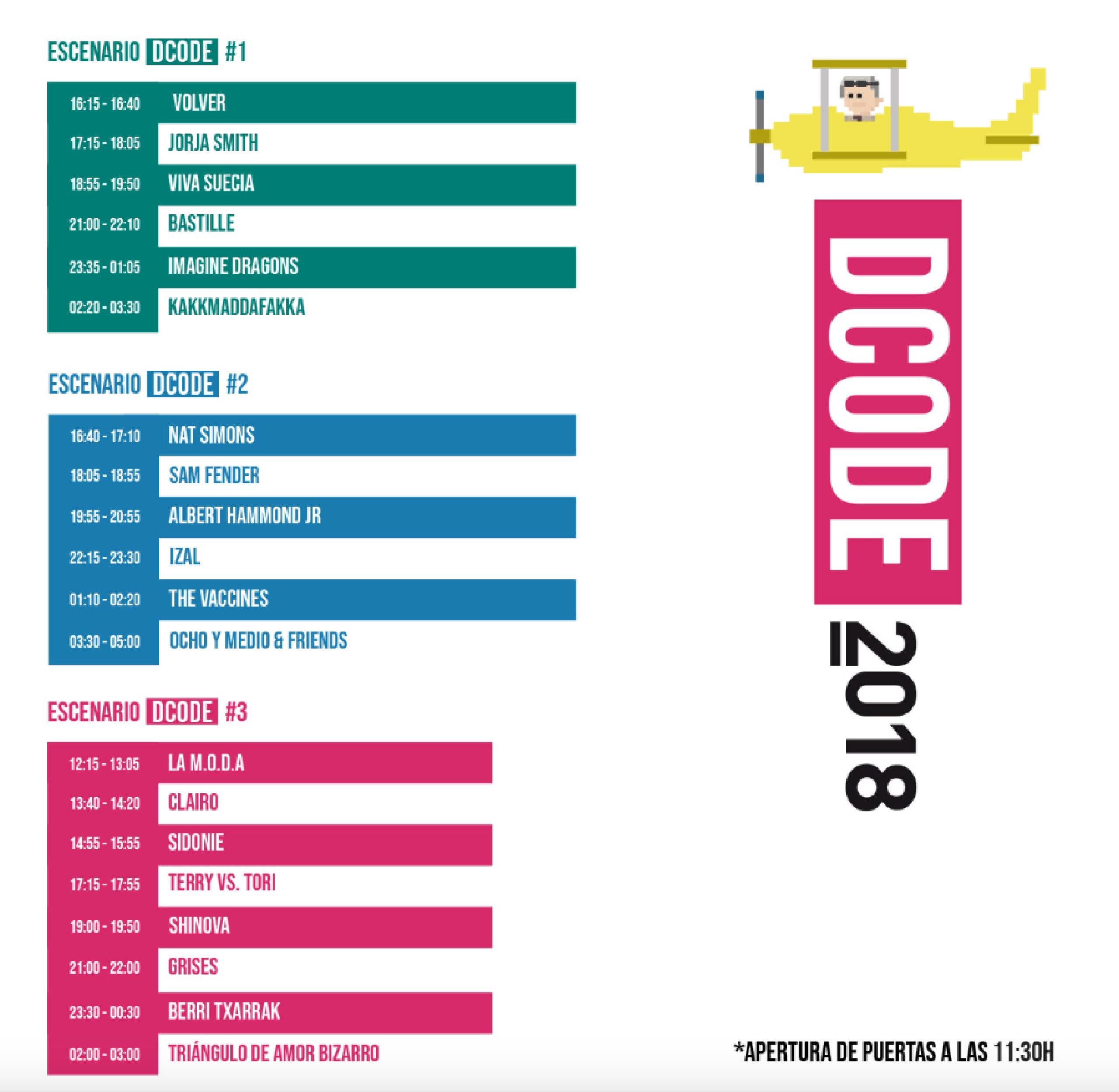 Foto de DCODE 2018
