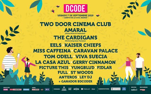 Cartel del Dcode 2019