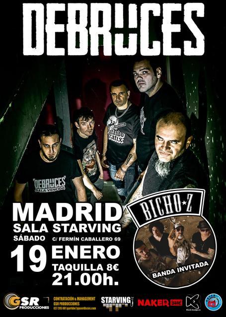 Debruces + BichoZ en Madrid.