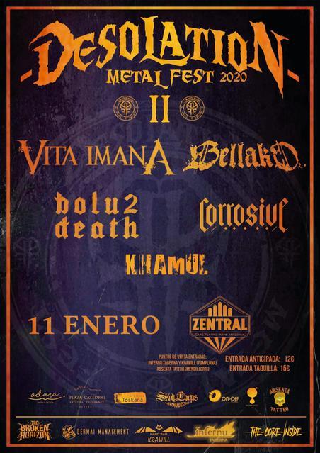 Cartel del Desolation Metal Fest 2020