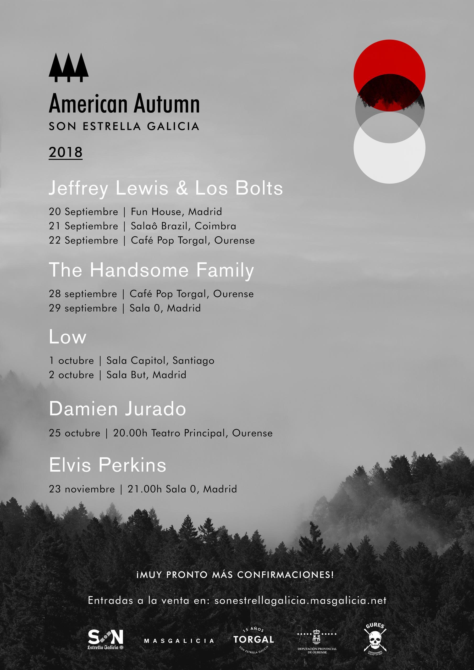 Artistas American Autumn