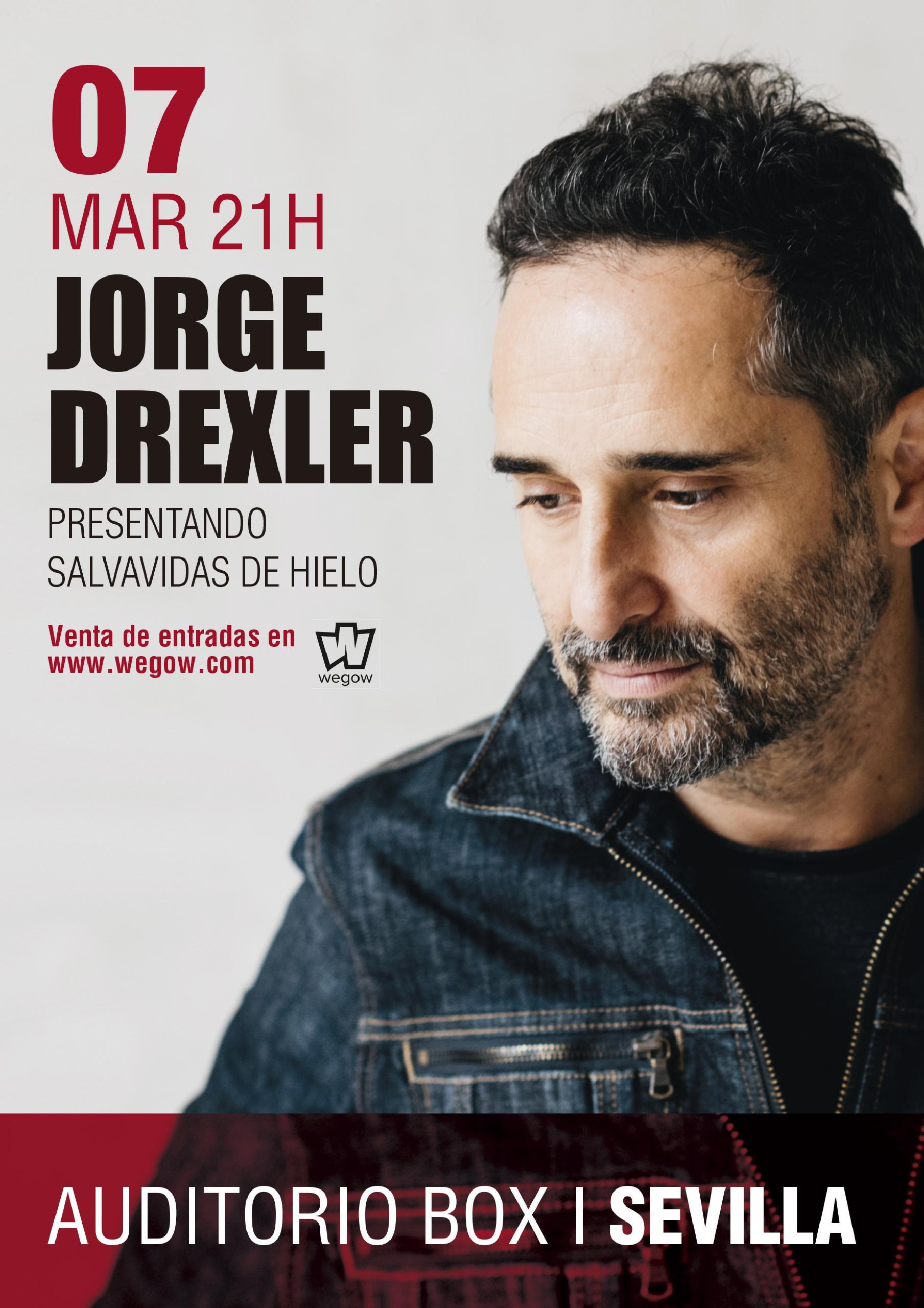Jorge Drexler Box Sevilla