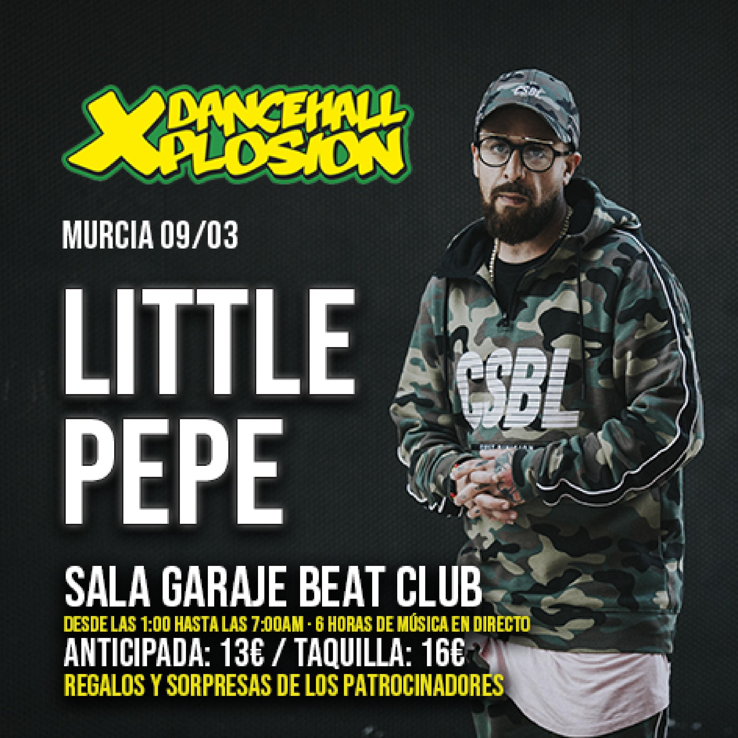 Little Pepe en Dancehall Xplosion Murcia