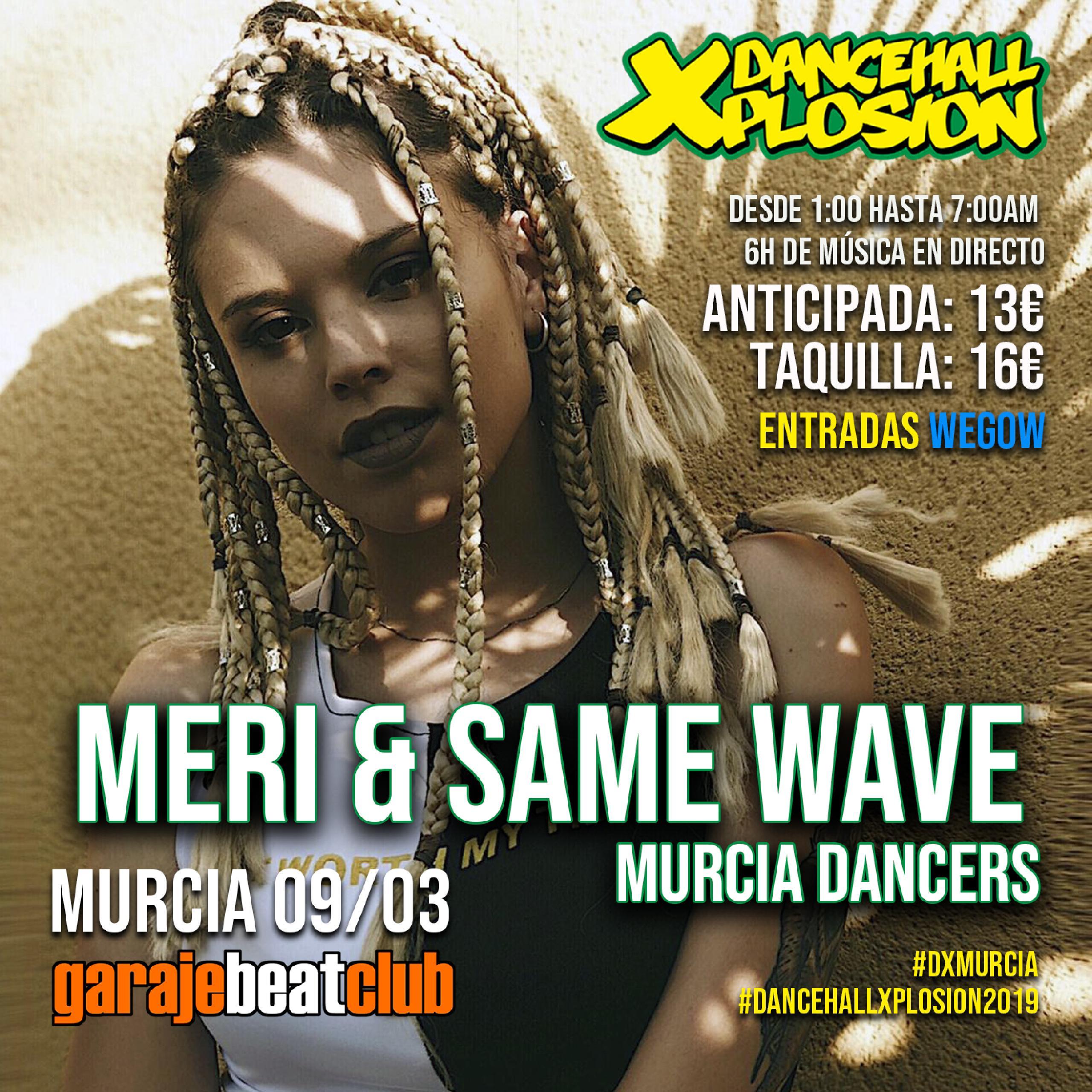 Meri & Same Wave en #DxMurcia