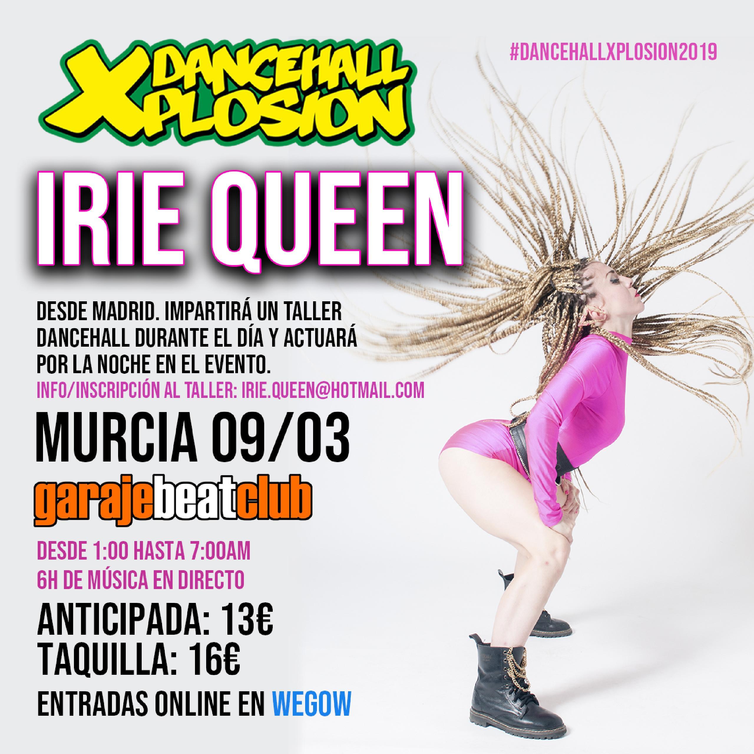 Irie Queen en #DxMurcia 2019