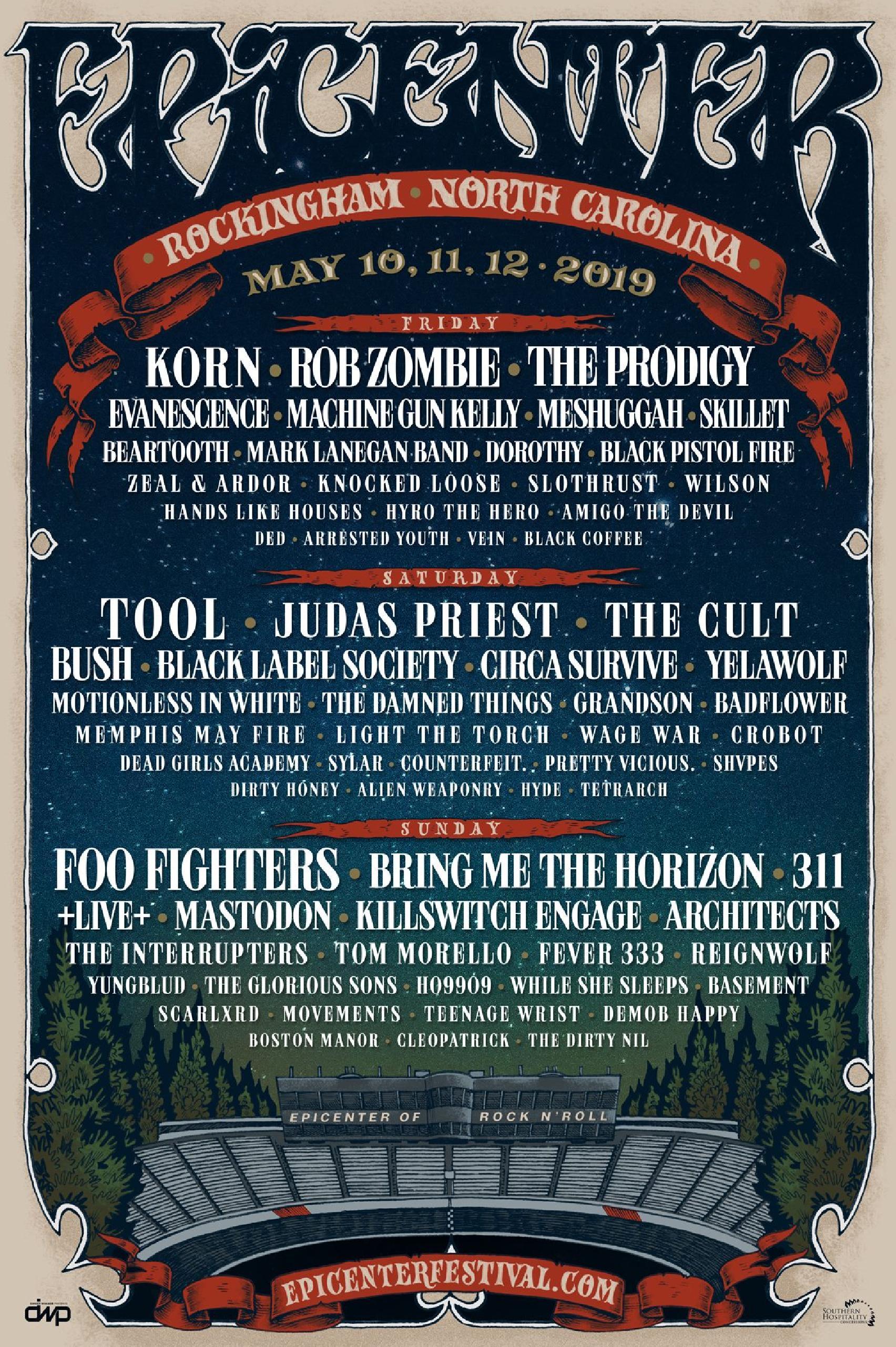 Epicenter Festival 2019 lineup