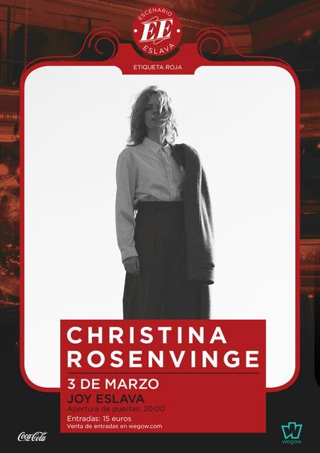 Escenario Eslava presenta a Christina Rovenvinge en Madrid
