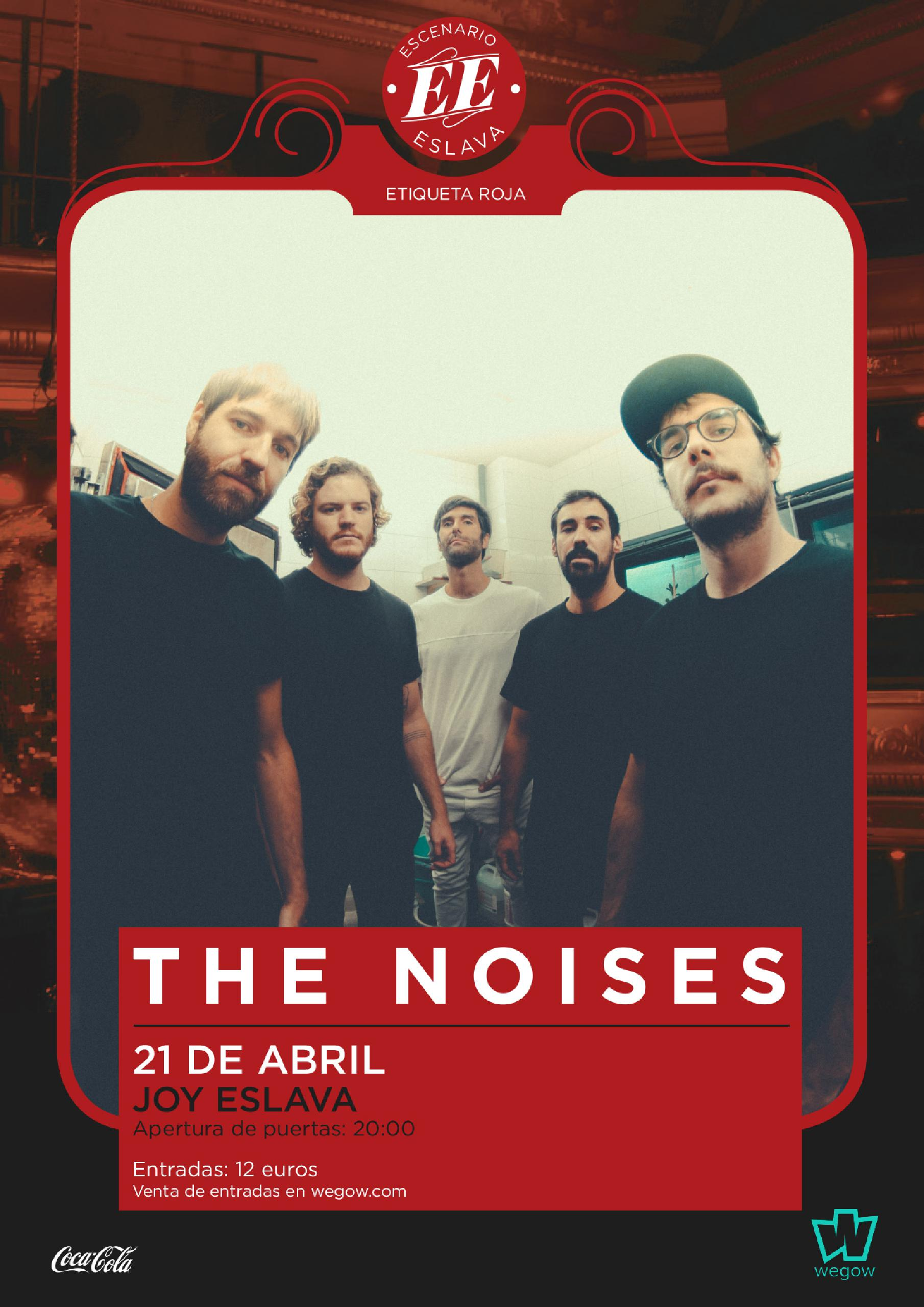 Escenario Eslava presenta a The Noises en Madrid