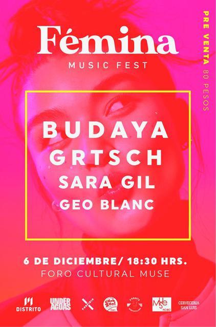 Flyer oficial del Festival