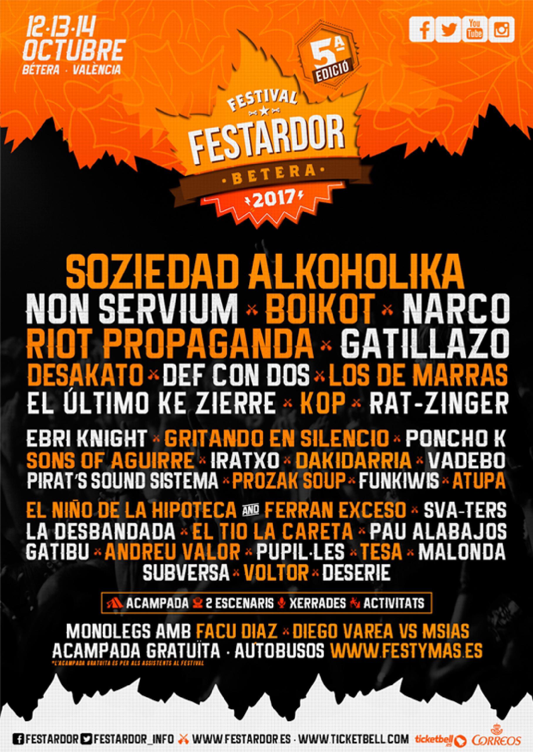 Cartel del Festival Festardor