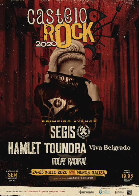 Cartel 1º Avance Castelo Rock 2020