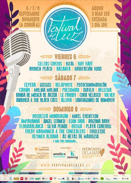 Cartel Festival de la Luz 2019