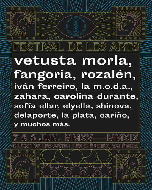 Cartel Festival de les Arts 2019