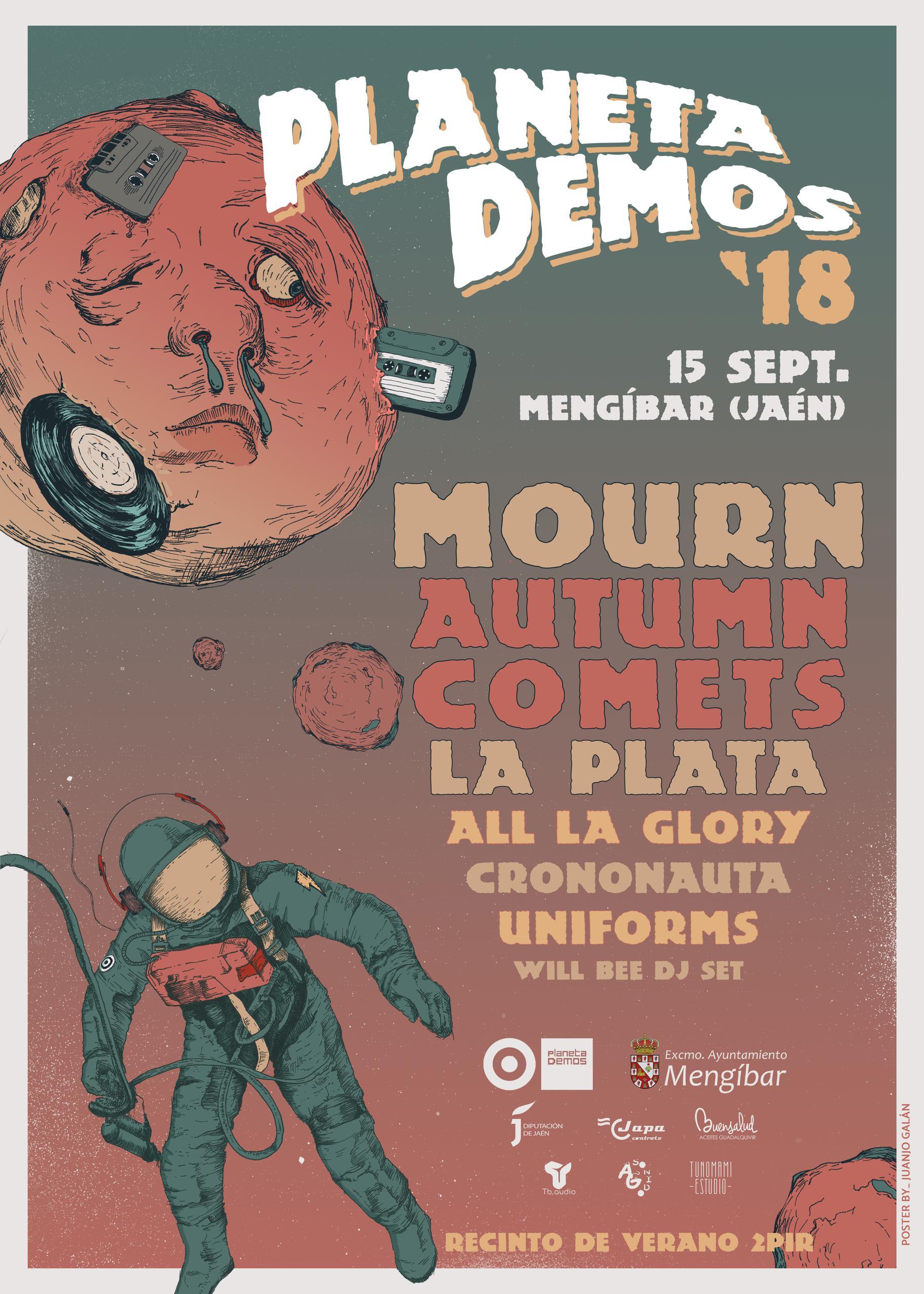 Cartel Festival Planeta Demos 2018
