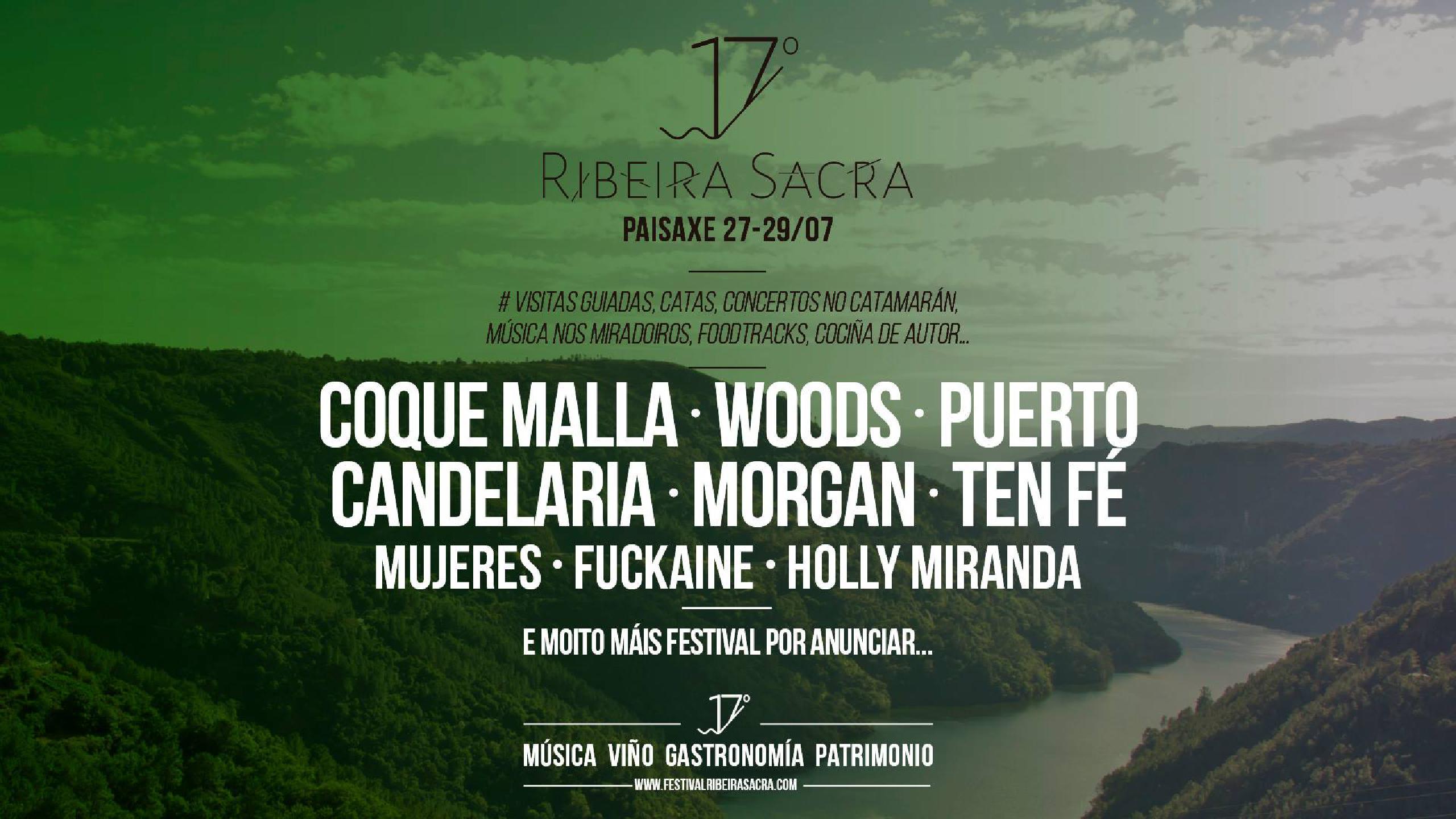 Cartel confirmaciones Ribeira Sacra 2018