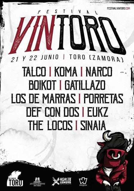 Confirmaciones Festival Vintoro 2019, cartel completo
