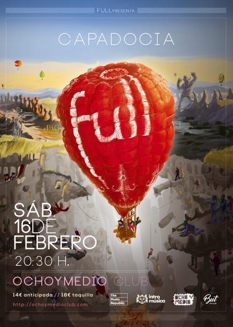 Full presenta Capadocia en Madrid en Ochoymedio
