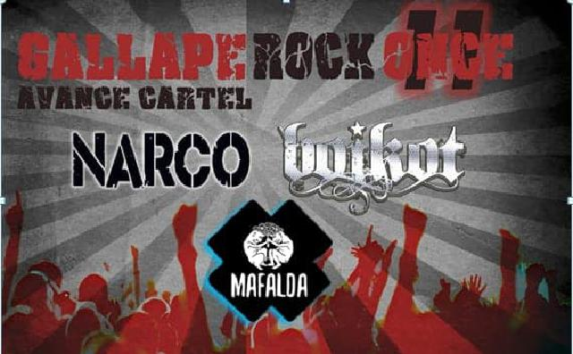 Cartel Gallape Rock 2019