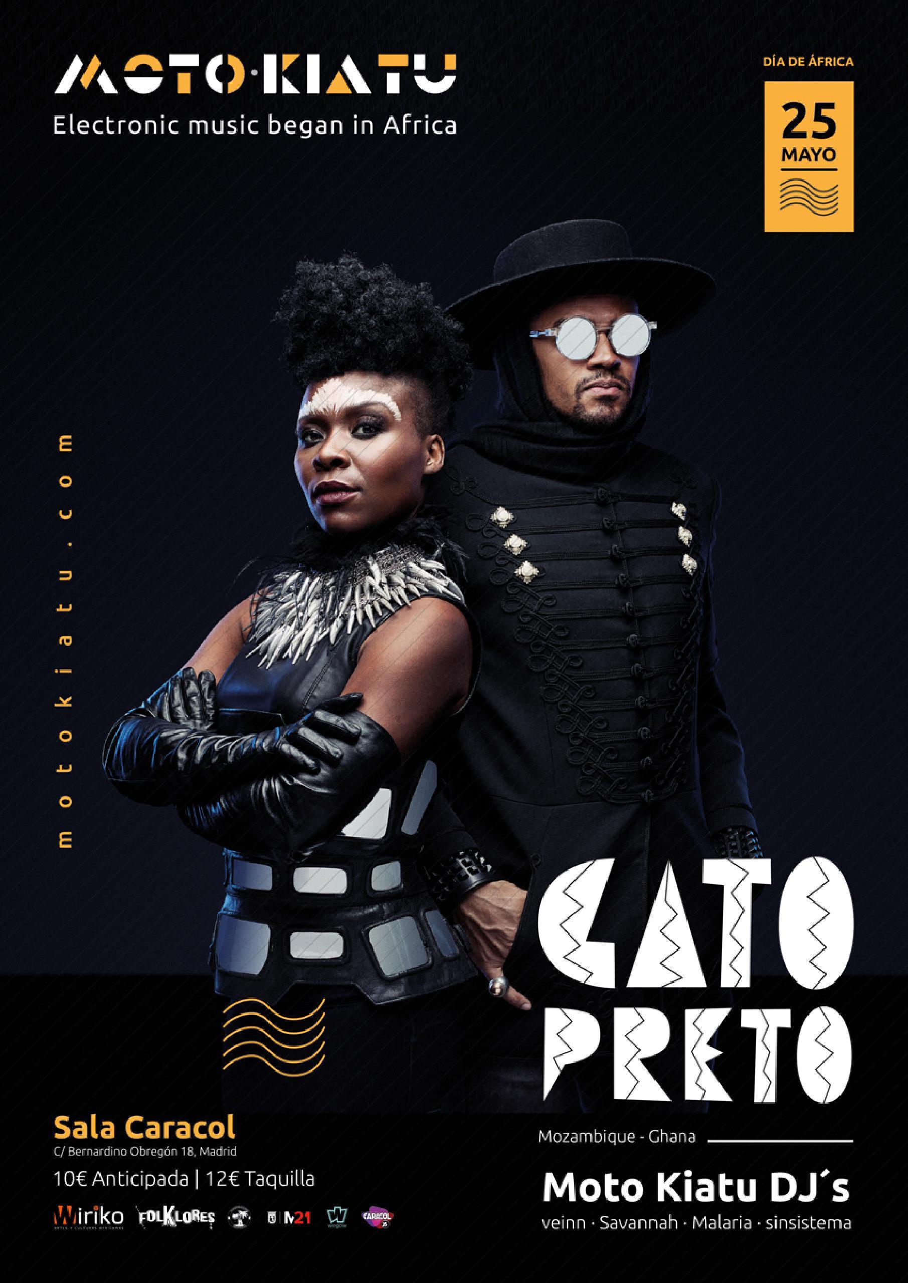 Gato Preto en Madrid