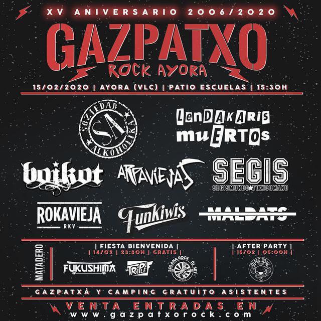 Cartel del Gazpatxo Rock 2020