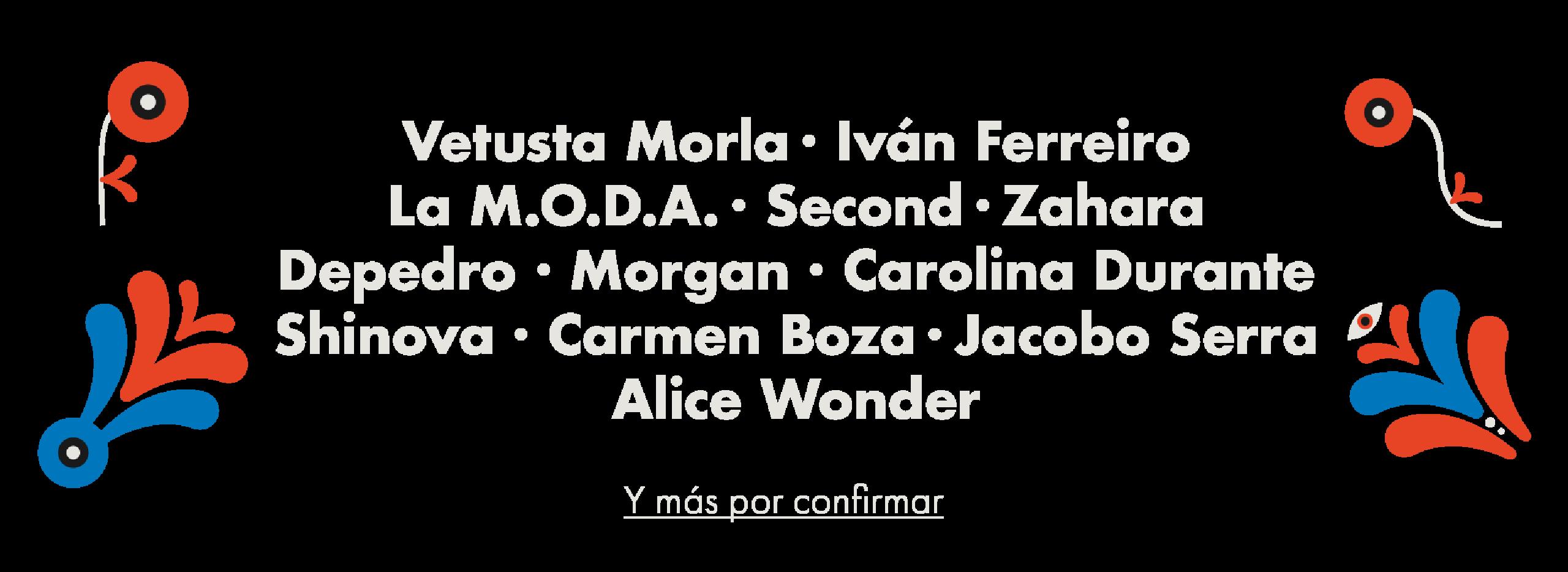 Cartel confirmaciones Granada Sound 2019
