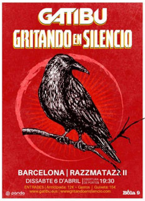 GRITANDO EN SILENCIO - BCN