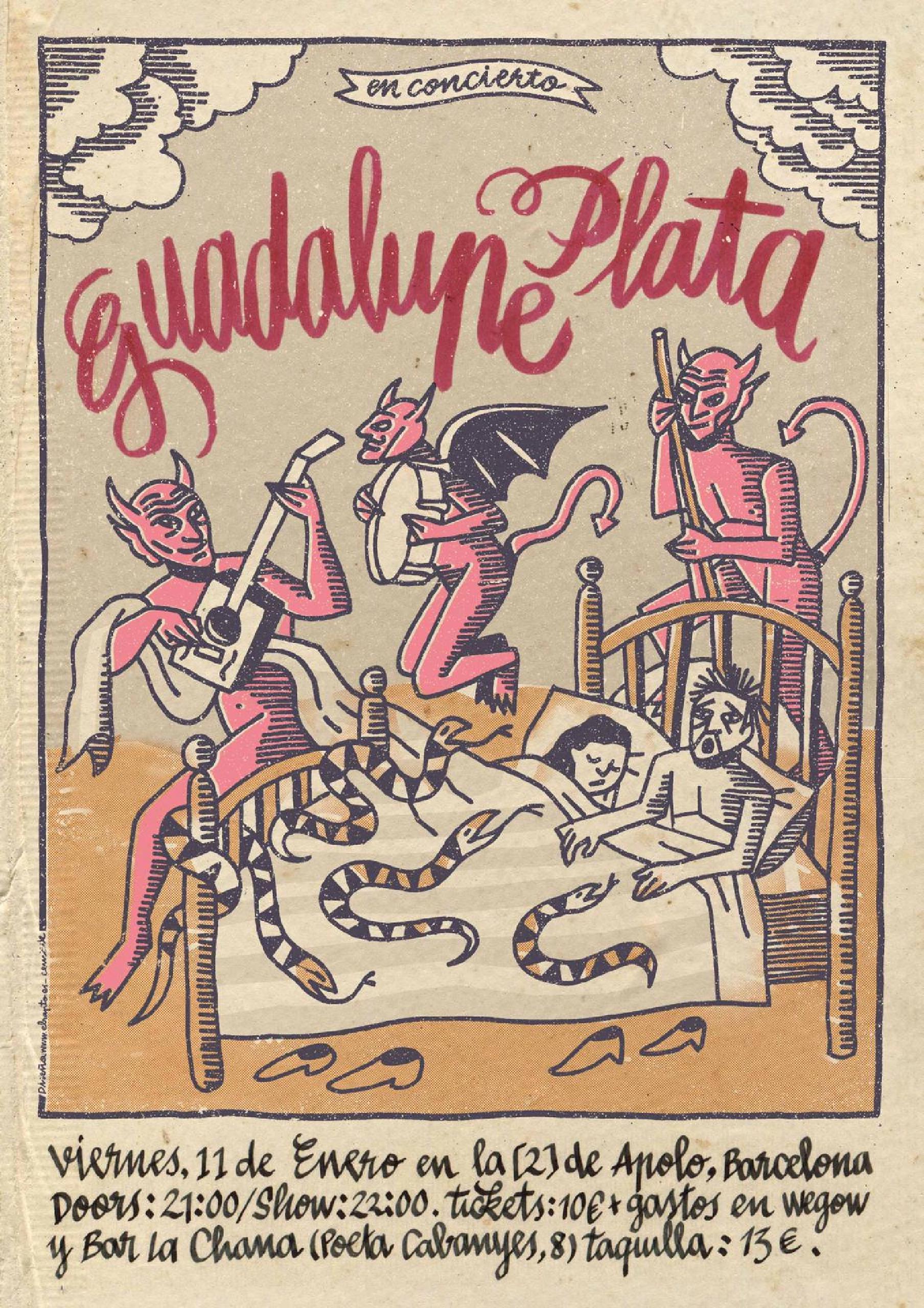 Poster, por Mäik de El Rapto Estudio.