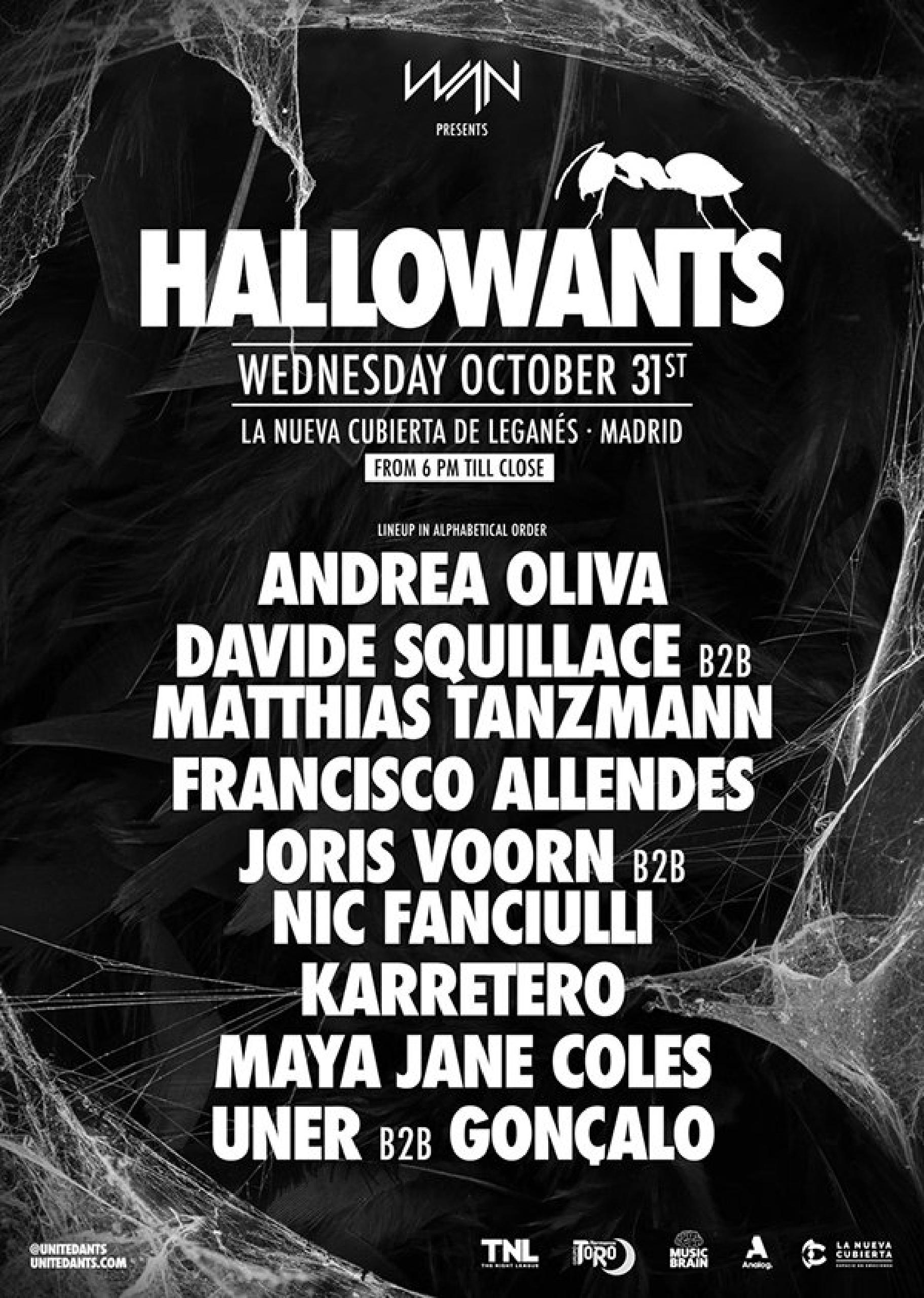 Cartel Hallowants 2018