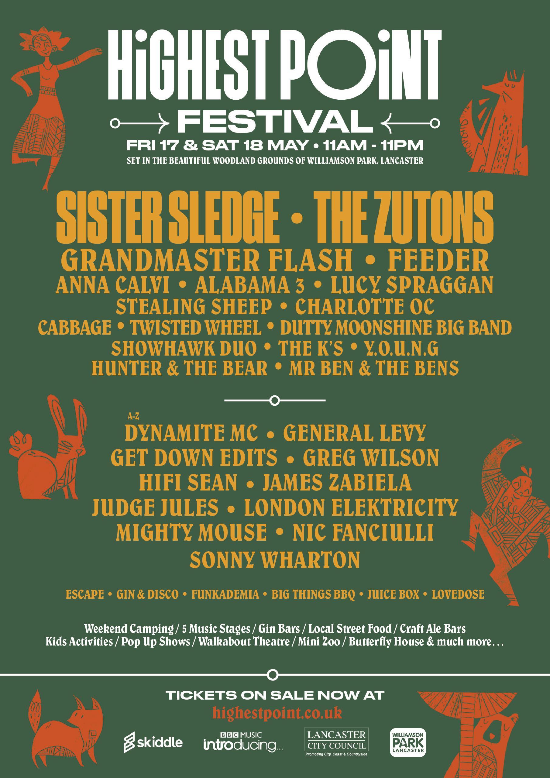 Highest Point Festival Lineup