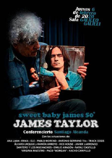 Homenaje James Taylor Sweet Baby James 50 Aniversario