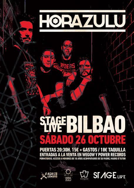 Sala Stage Live 26/10/2019