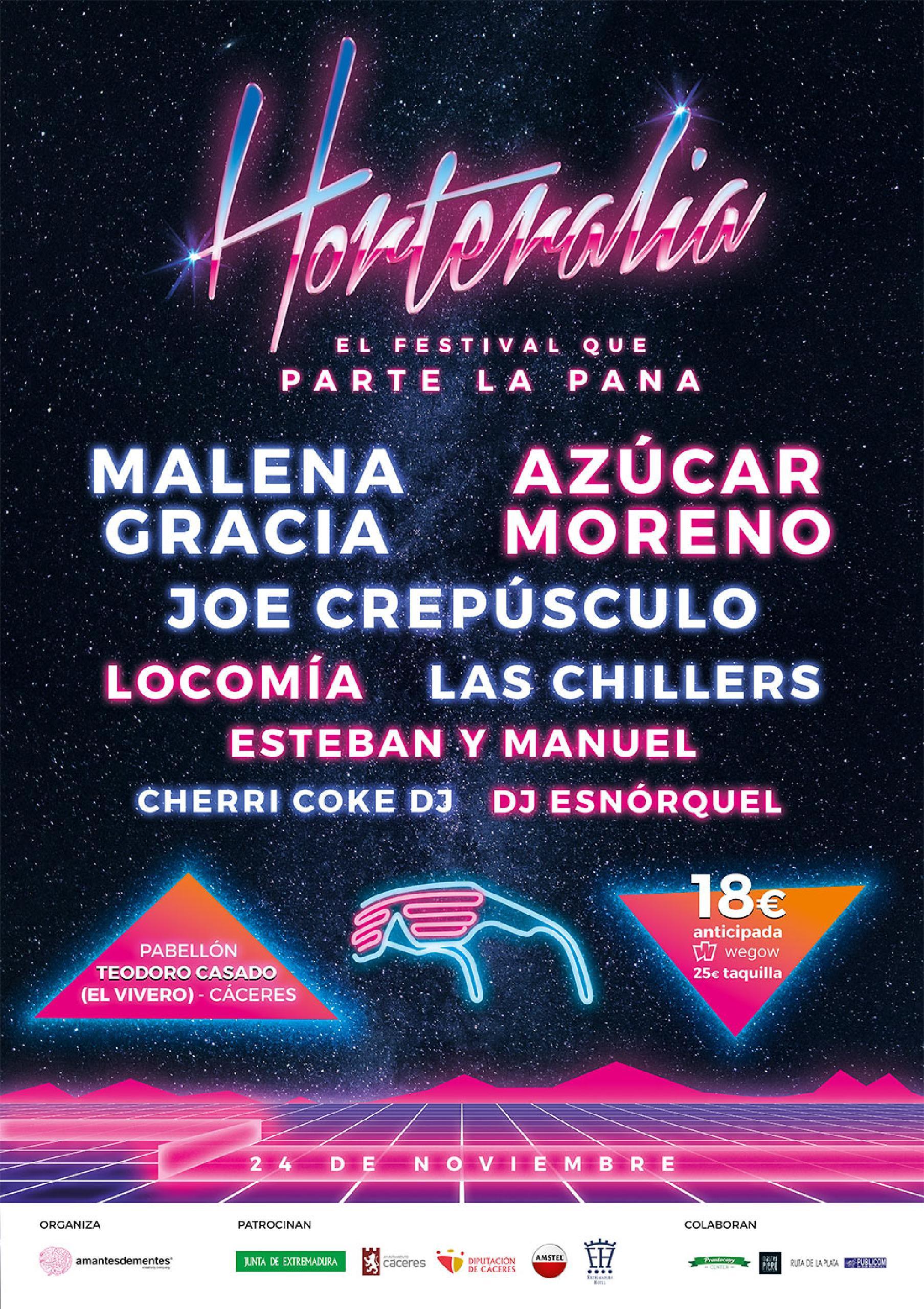 24 de noviembre en Cáceres. El festival más divertido del mundo.