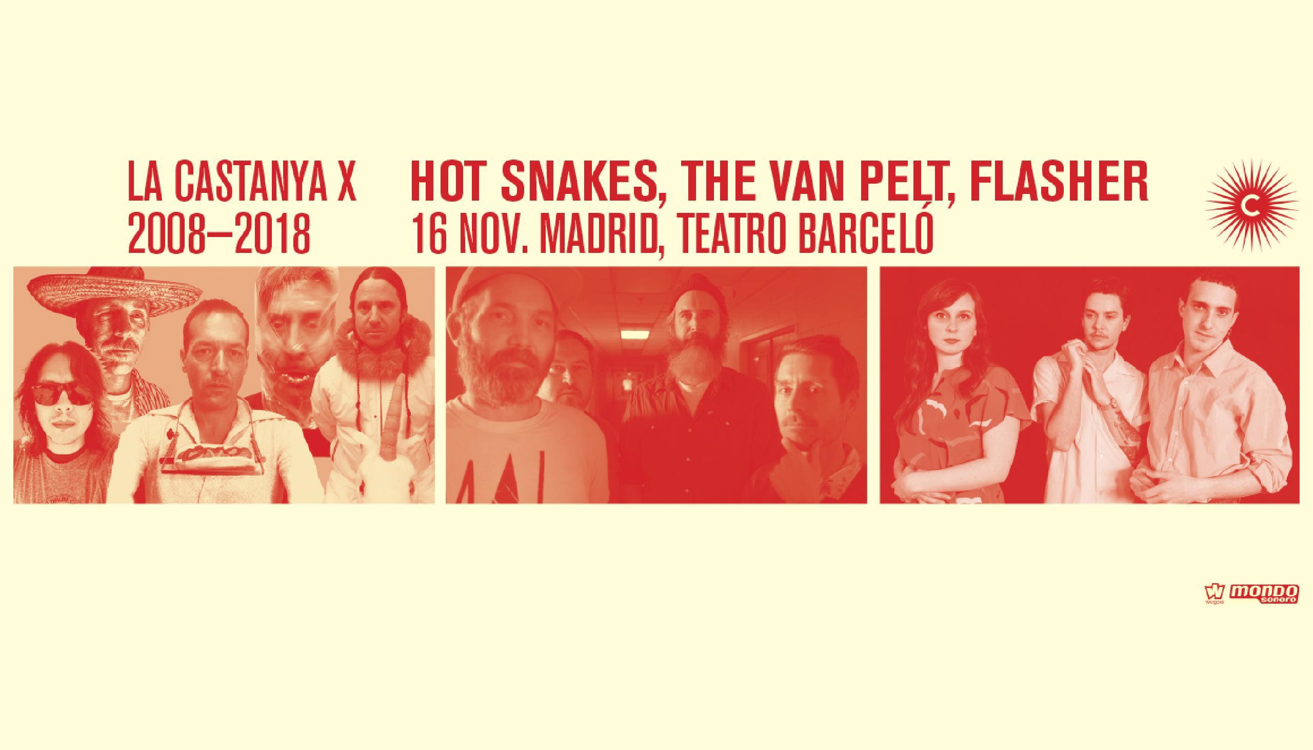 LCX Madrid Hot Snakes y The Van Pelt concierto