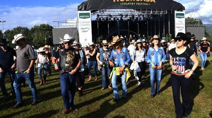 Foto del Huercasa Country Festival 2018