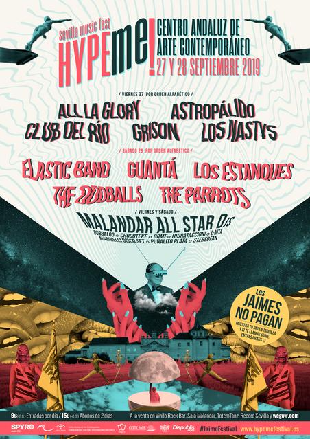 #JaimeFestival.  27 y  28 Septiembre en el Centro Andaluz de Arte Contemporáneo de Sevilla.