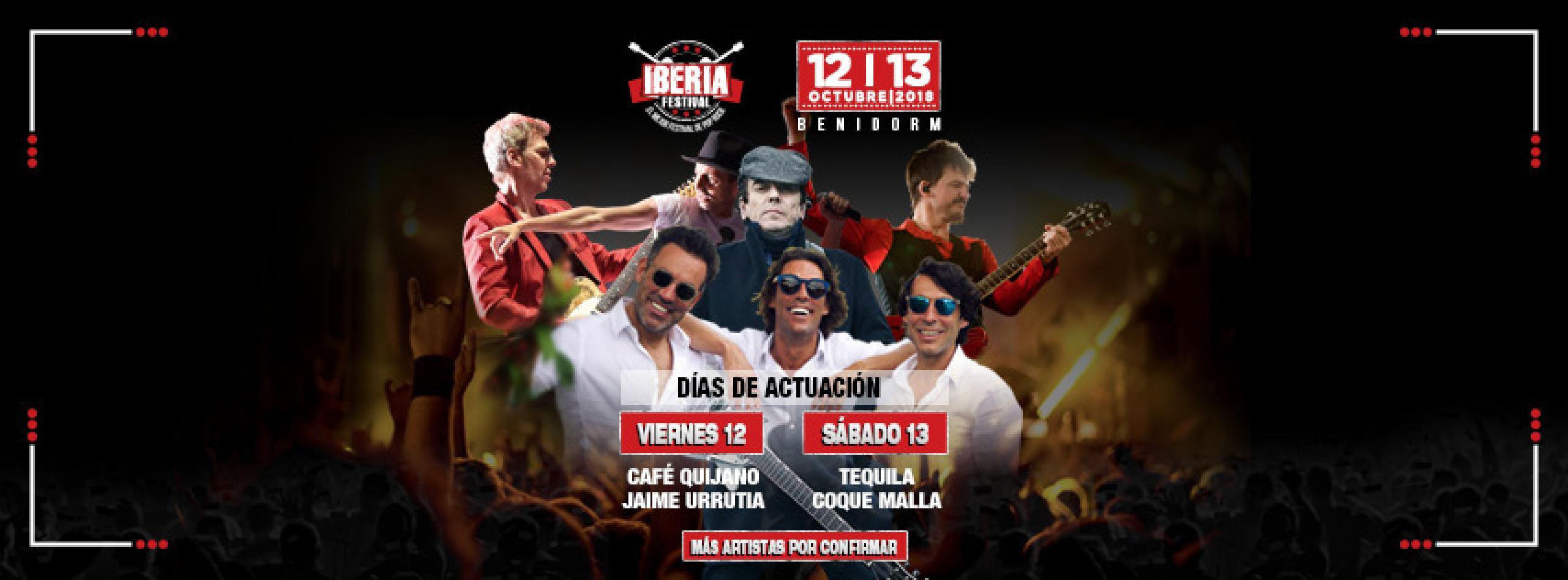 Cartel Iberia Festival 2018 Benidorm