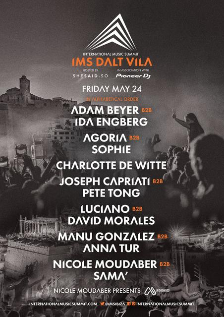 IMS Dalt Vila 2019 line up