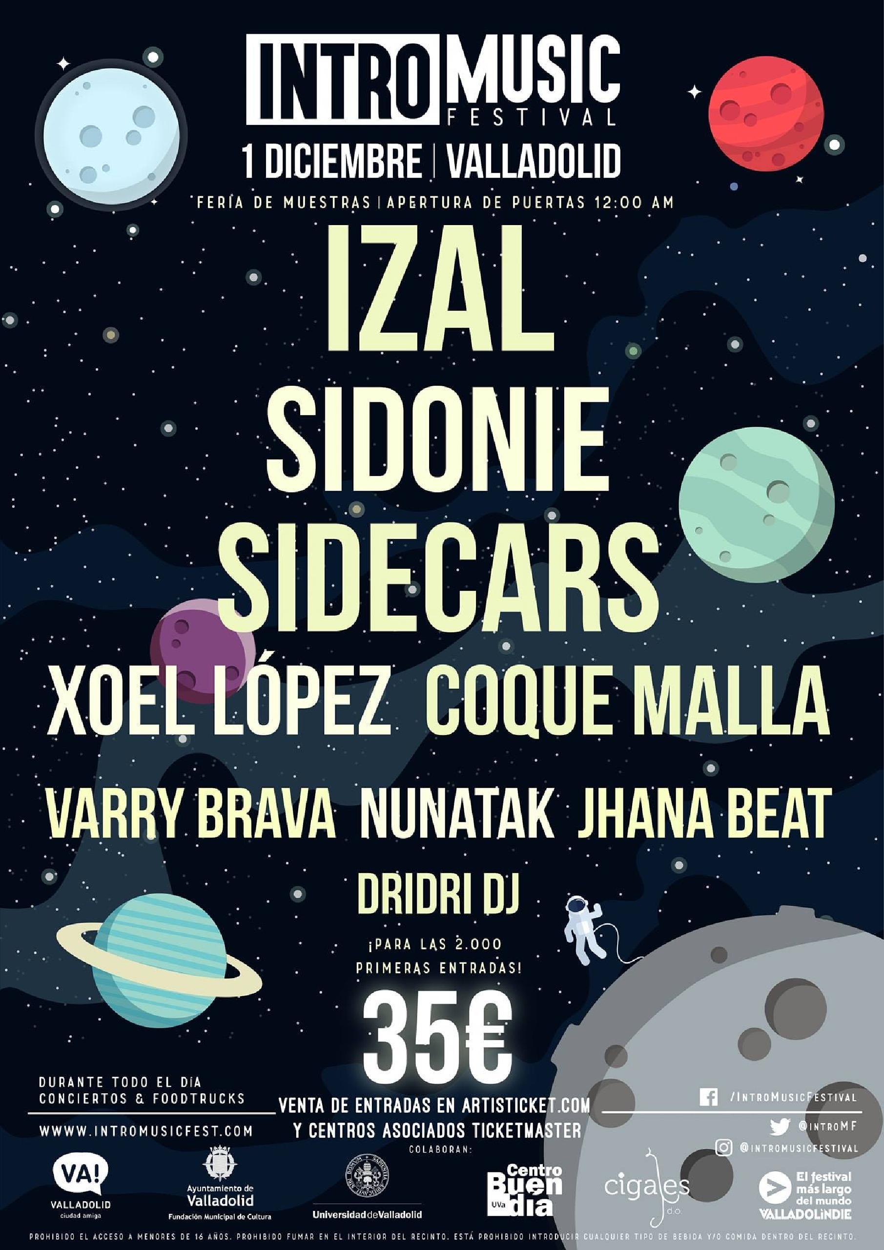 Cartel Intro Music Festival 2018