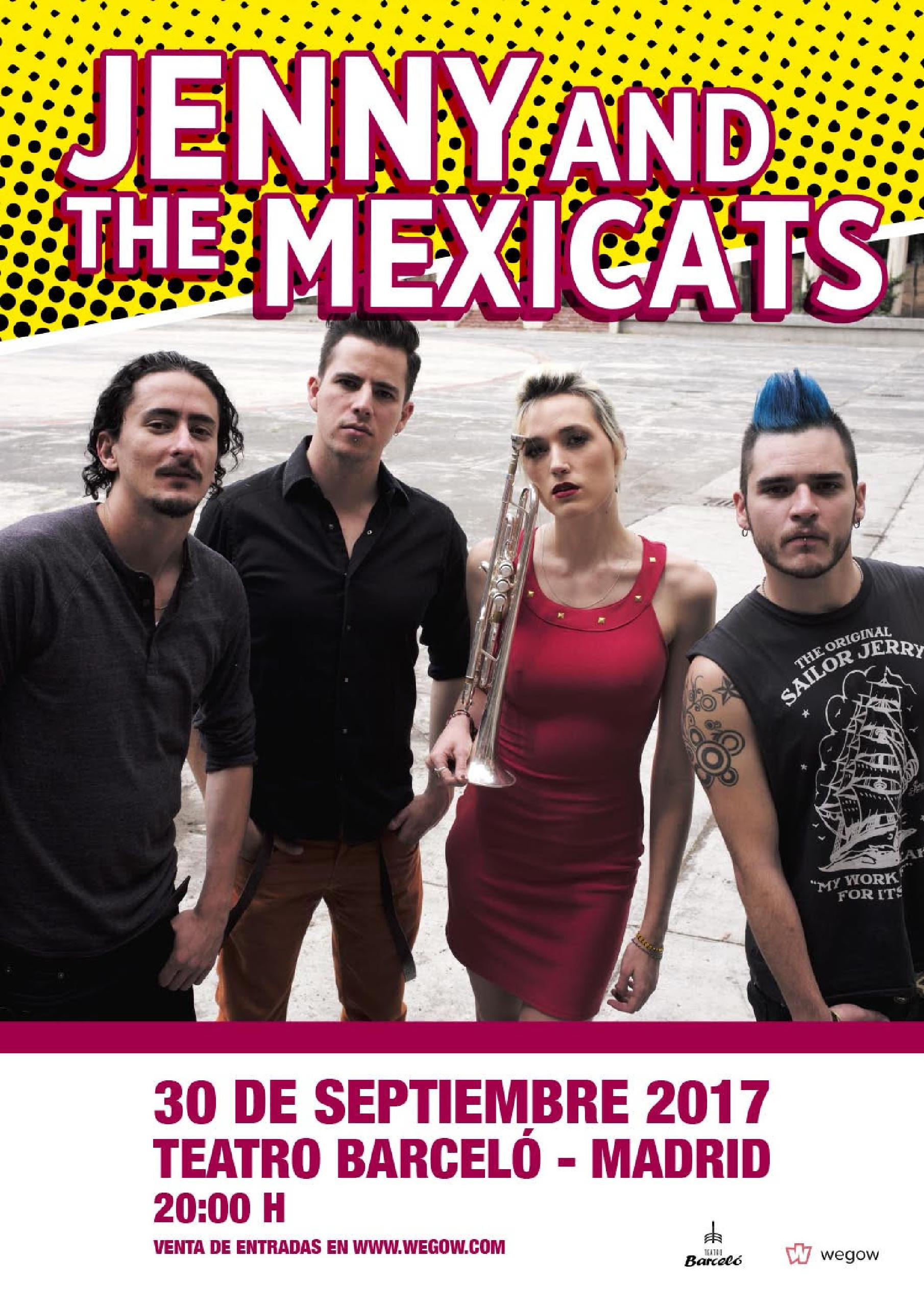 Jenny and the mexicats Madrid septiembre