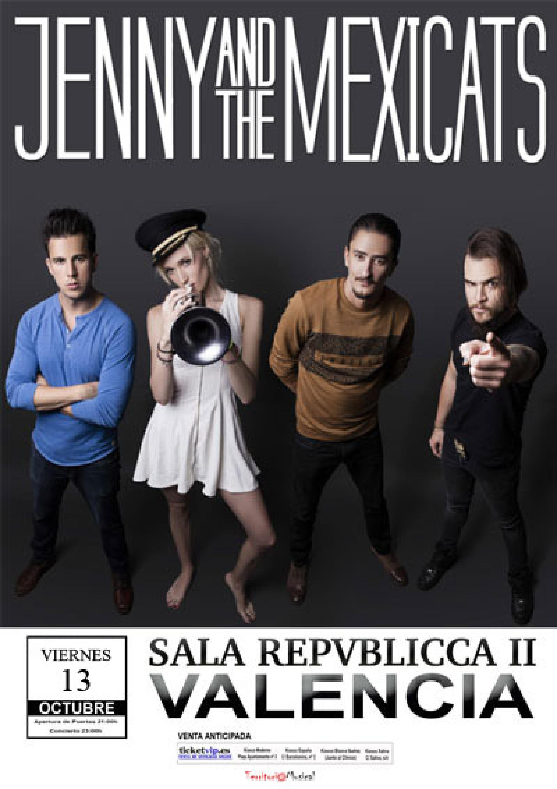 jenny and the mexicats en Valencia
