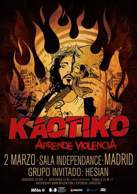 KAOTIKO Y HESIAN en MADRID