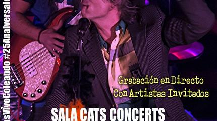 Kike Babas en Sala Cats Concerts
