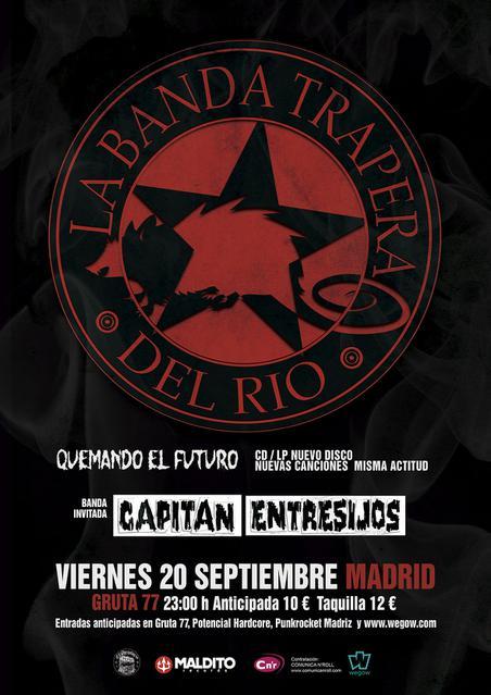 La Banda Trapera Del Río en Madrid