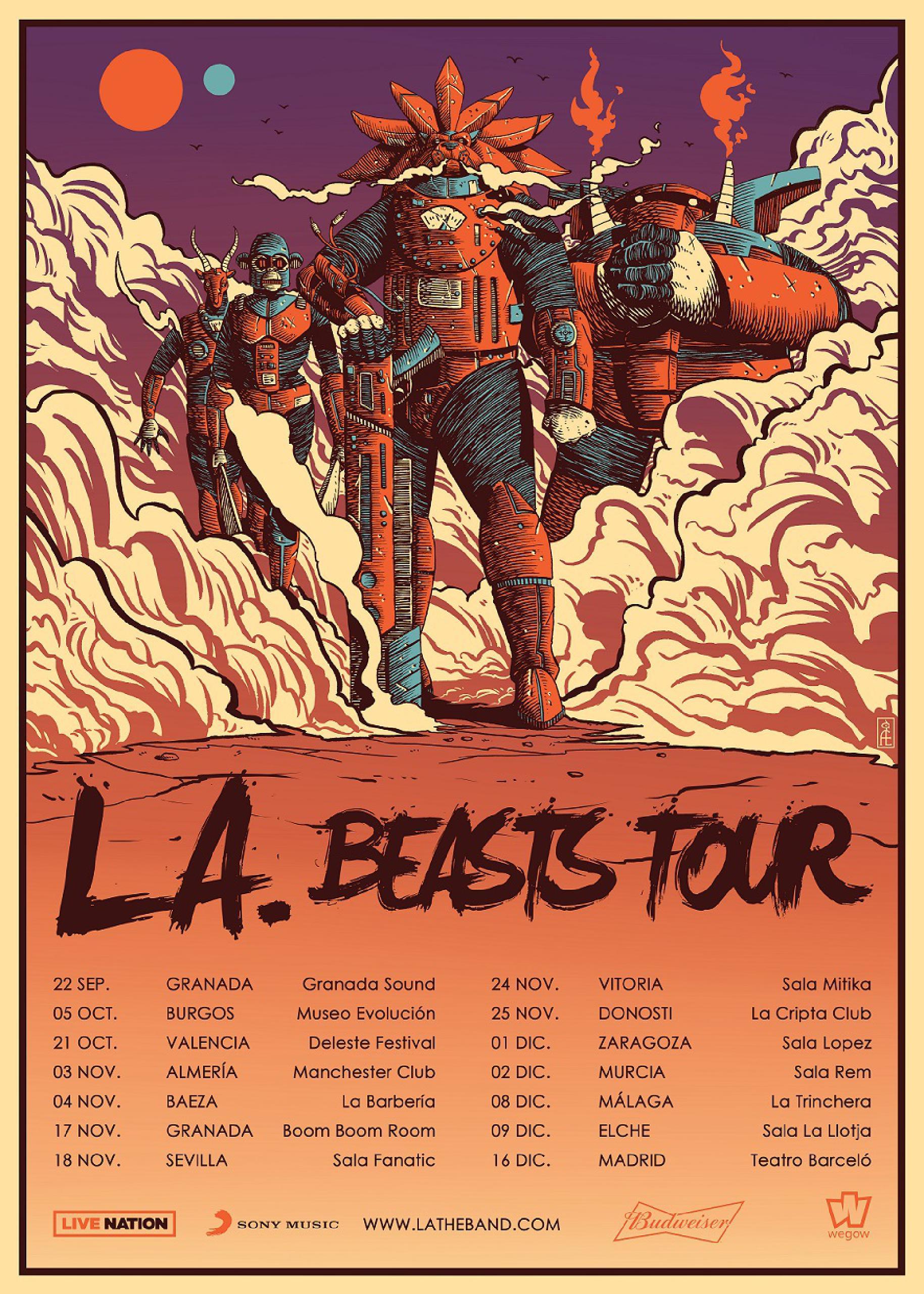 Beasts Tour