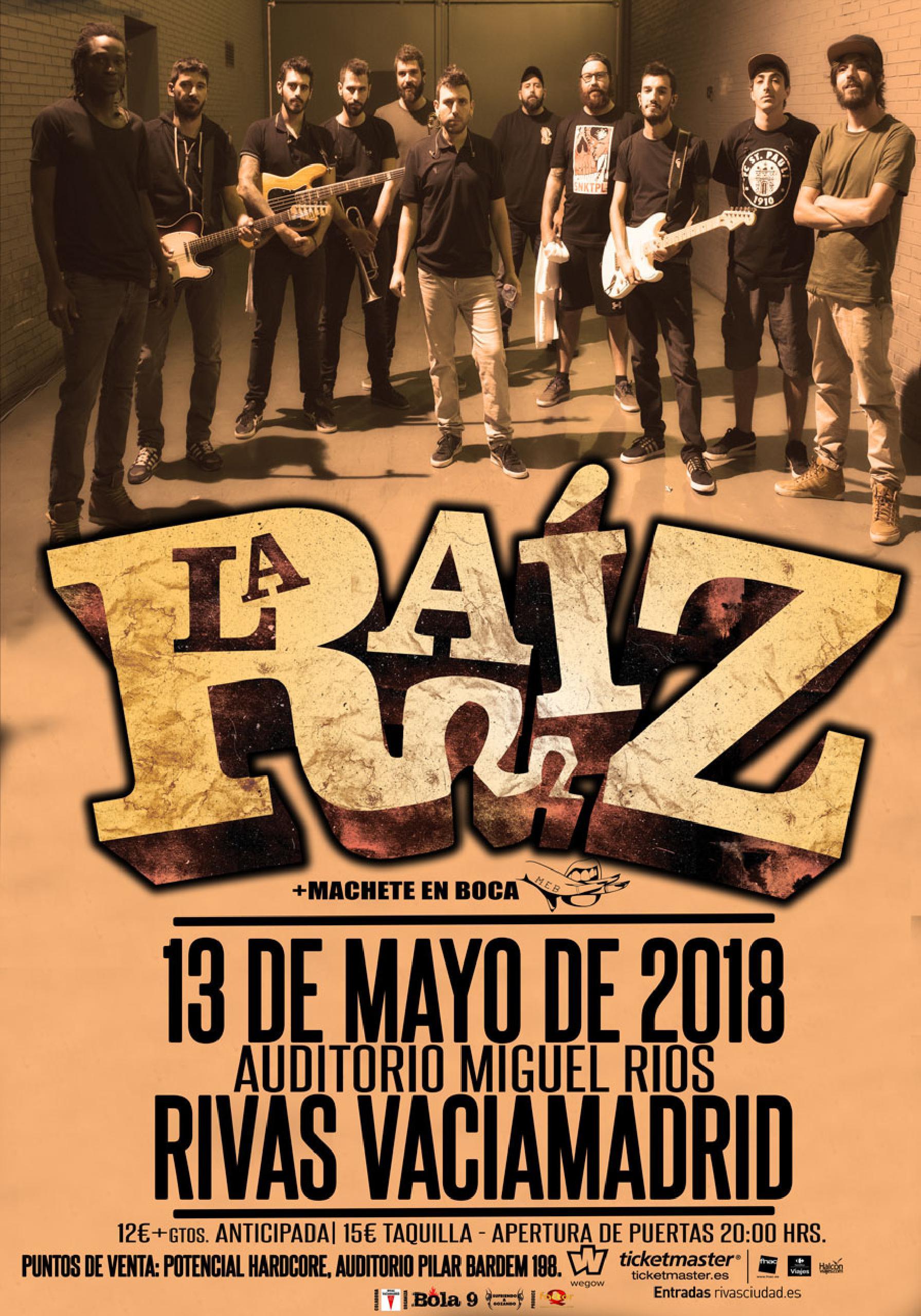 LA RAIZ EN RIVAS VACIA MADRID