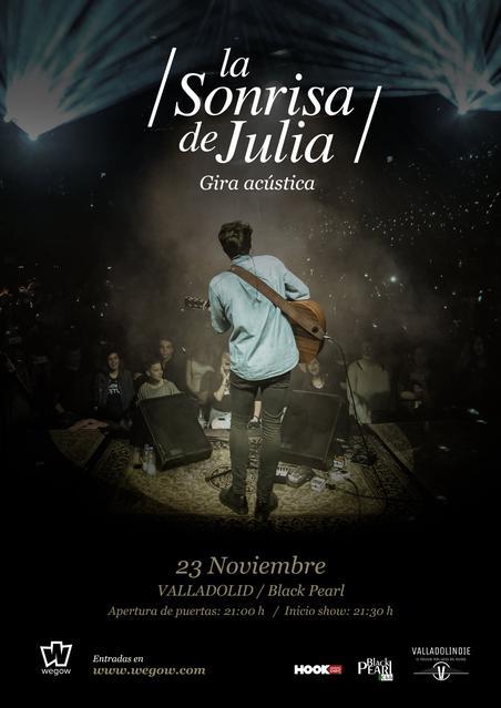 Cartel La Sonrisa de Julia Valladolid