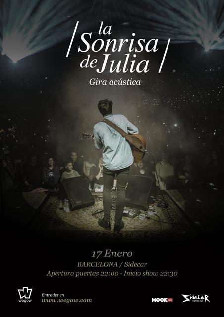 Cartel La Sonrisa de Julia Barcelona
