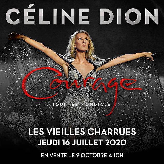 Céline Dion, Festival Les Vieilles Charrues