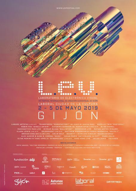 L.E.V. Festival Gijón Line-up confirmaciones, cartel