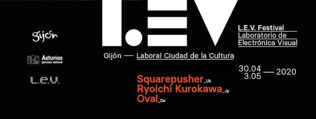 Cartel de L.E.V. Gijón 2020